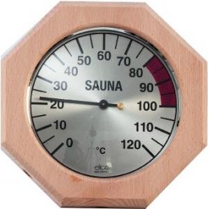 Thermomètre sauna octogonal...
