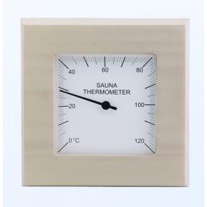 Thermomètre sauna carré...