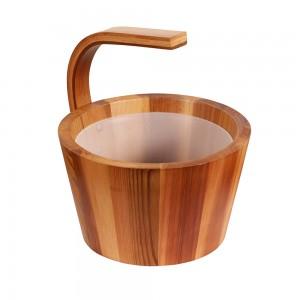 Seau Design en bois de Cèdre