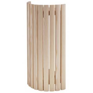 Abât-jour d'angle en bois